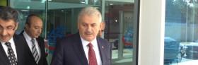 Sayın Bakanımız Binali Yıldırım U.D.H.B. 1. Bölge Müd. Binasını Ziyaret Etti